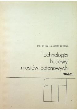 Technologia budowy mostów betonowych