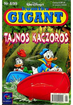Komiks Gigant nr 8 Tajnos Kaczoros
