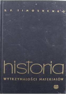 Historia wytrzymałości materiałów