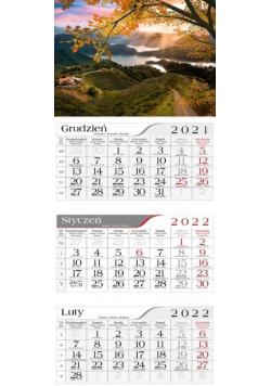 Kalendarz 2022 Trójdzielny Jesienna droga CRUX