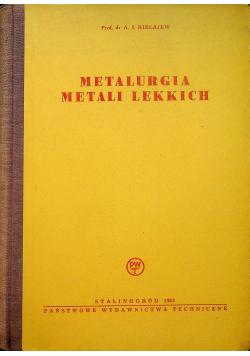 Metalurgia metali lekkich