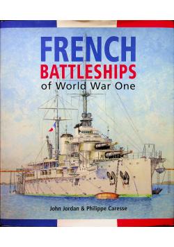 French Battleships of World War One Jordan