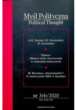 Myśl polityczna 3