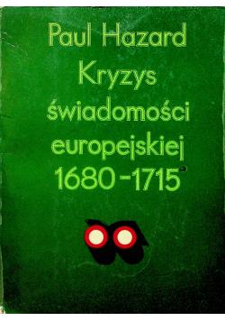 Kryzys świadomości europejskiej 1680 1715