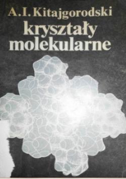 Kryształy molekularne