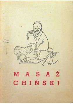 Masaż chiński