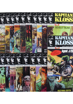 Kapitan Kloss 20 numerów
