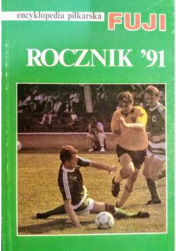 Encyklopedia piłkarska FUJI Rocznik 91