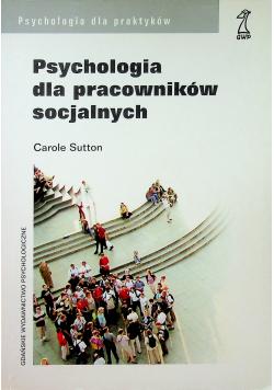 Psychologia dla pracowników socjalnych