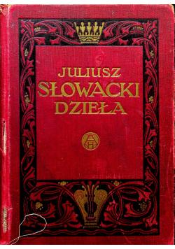 Dzieła Juliusza Słowackiego Tom II ok 1940 r.