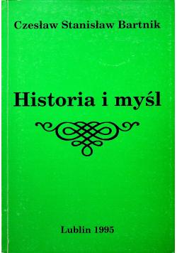 Historia i myśl