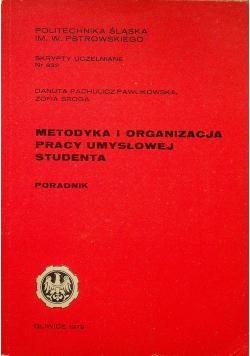 Metodyka i organizacja pracy umysłowej studenta