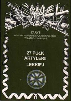 27 Pułk Artylerii Lekkiej