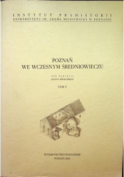 Poznań we wczesnym średniowieczu tom V