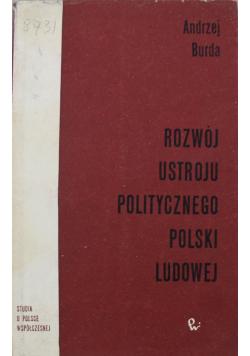 Rozwój ustroju politycznego Polski Ludowej