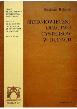 Średniowieczne opactwo cystersów w Rudach