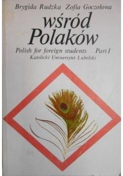 Wśród Polaków Polish for foreign students part I