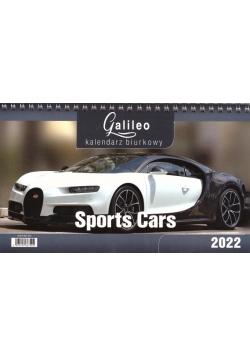 Kalendarz 2022 Biurkowy Galileo Sports Cars CRUX