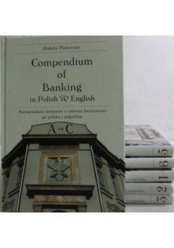 Kompendium terminów z zakresu bankowości po polsku i angielsku Tom od I do VI