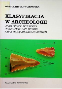 Klasyfikacja w archeologii