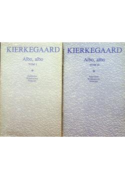 Kierkegaard  Albo albo 2 tomy