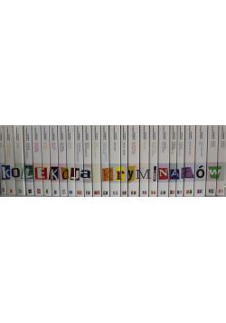 Kolekcja kryminałów 25 tomów od 1 do 25