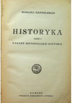 Historyka część I Zasady metodologji historji 1921r