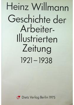Geschichte der Arbeiter Illustrierten Zeitung 1912 1938