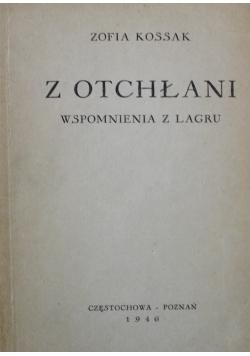 Z Otchłani wspomnienia z lagru 1946 r