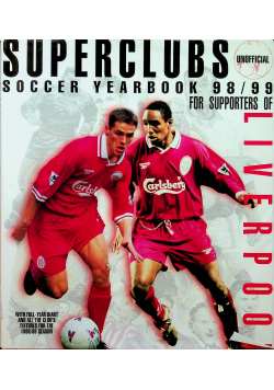 Superclubs Unofficial Soccer Yearbook 98/99 For Supporters Of Liverp VG