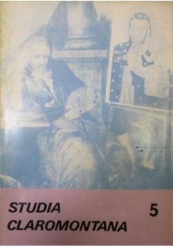 Studia Claromontana 5