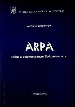 ARPA radar z automatycznym śledzeniem echa