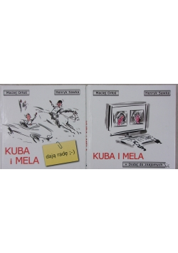 Kuba i Mela zestaw 2 książek
