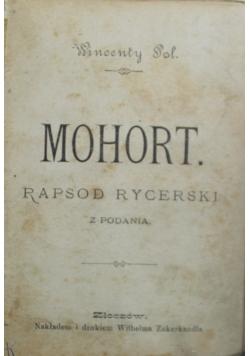 Mohort Rapsod Rycerski 1927 r. \ Treny odprawa posłów greckich 1923 r.