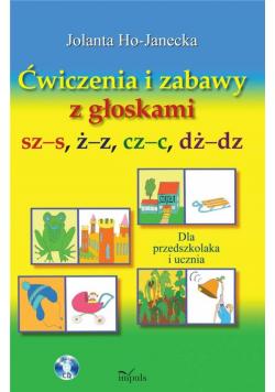Logopedia. Ćw. i zabawy z głoskami szs, żz, czc