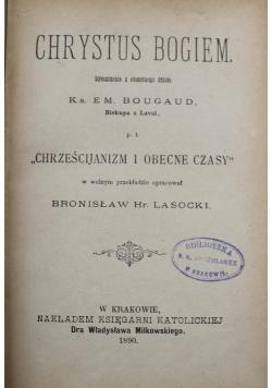 Chrystus Bogiem 1890 r.