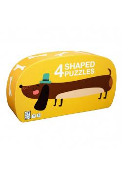 Puzzle dla dzieci w ozdobnym pudełku Pies