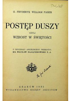 Postęp Duszy czyli wzrost w świętości 1935 r.