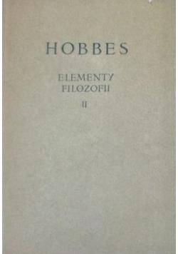 Elementy Filozofii II