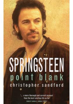 Springsteen point blank