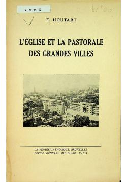 Leglise et la pastorale des grandes villes
