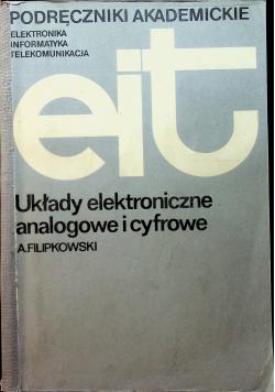 Układy elektroniczne analogowe i cyfrowe