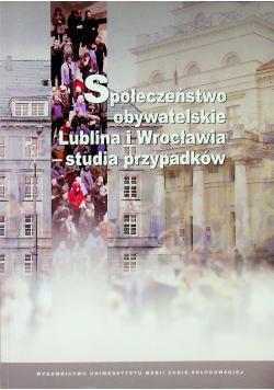 Społeczeństwo obywatelskie Lublina i Wrocławia