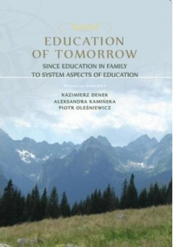 Education of Tomorrow Since Education in Family