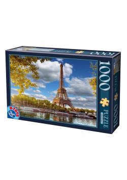 Puzzle 1000 Francja, Paryż- Widok n Wieżę Eiffla
