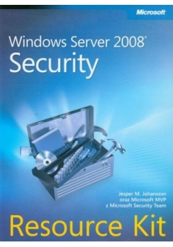 Windows Server 2008 Security Resource Kit NOWA