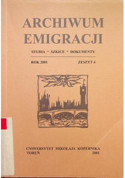 Archiwum Emigracji zeszyt 4