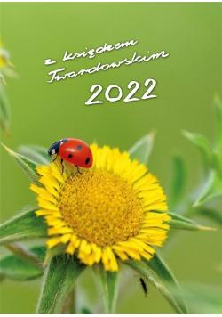 Kalendarz 2022 z ks. Twardowskim - biedronka