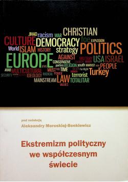 Ekstremizm polityczny we współczesnym świecie