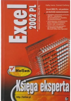 Excel 2002 PL Księga ekspercka